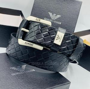 High Quality Designer Leather Belts Armani Available for U | Clothing Accessories for sale in Lagos State, Lagos Island (Eko)