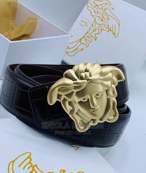 High Quality Designer Leather Belts Versace Available for U | Clothing Accessories for sale in Lagos State, Lagos Island (Eko)