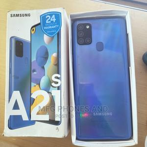 Samsung Galaxy A21s 64 GB Blue | Mobile Phones for sale in Osun State, Ife