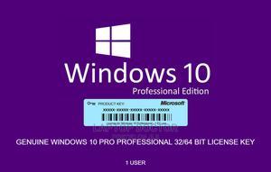 Genuine Window 10 PRO Licsence   Windows for sale in Lagos State, Ikeja