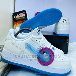 *New Nike Airforce 1 Sea Wave•White/Ice•* | Shoes for sale in Lagos State, Oshodi