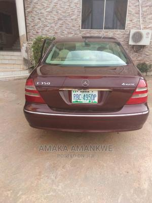 Mercedes-Benz E350 2006 Red   Cars for sale in Abuja (FCT) State, Durumi