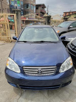 Toyota Corolla 2003 Sedan Blue   Cars for sale in Lagos State, Surulere