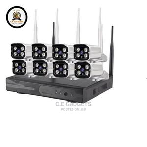 CCTV 8channel Wireless Kits Camera | Security & Surveillance for sale in Lagos State, Ojo
