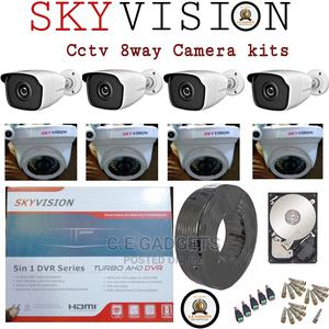 CCTV Surveillance Cameras and Digital Video Recorder 8kits   Security & Surveillance for sale in Lagos State, Ojo