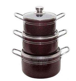 6PCS Non Stick Pot Set | Kitchen & Dining for sale in Lagos State, Alimosho