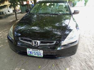 Honda Accord 2003 2.4 Automatic Black | Cars for sale in Delta State, Warri