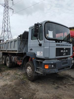 MAN Diesel Tipper 10tyres With Front Auxiliary 6x6 | Trucks & Trailers for sale in Lagos State, Amuwo-Odofin
