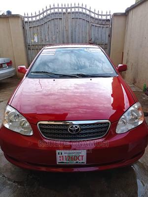 Toyota Corolla 2007 Red | Cars for sale in Lagos State, Ikorodu