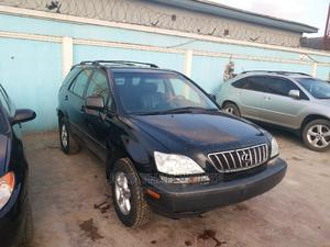 Lexus RX 2002 300 4WD Black   Cars for sale in Lagos State, Alimosho