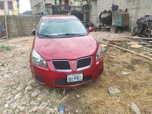 Pontiac Vibe 2009 1.8L Red   Cars for sale in Lagos State, Surulere