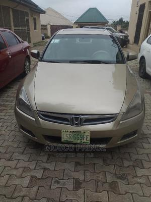 Honda Accord 2007 2.0 Comfort Automatic Gold   Cars for sale in Abuja (FCT) State, Gaduwa