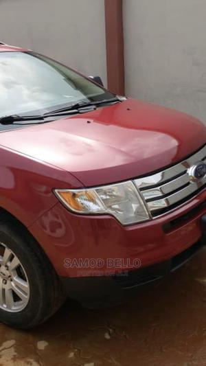 Ford Edge 2008 SE 4dr FWD (3.5L 6cyl 6A) Red | Cars for sale in Lagos State, Ikorodu