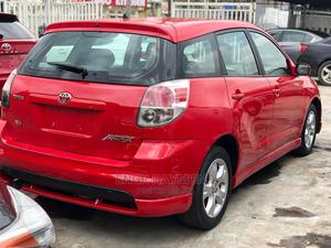 Toyota Matrix 2008 Red | Cars for sale in Lagos State, Ikeja