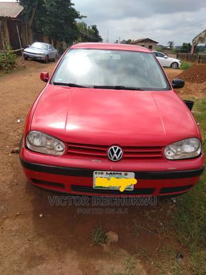 Volkswagen Golf 2003 1.6 Automatic Red | Cars for sale in Enugu State, Enugu
