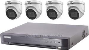4 Pcs 5mp Indoor Cctv Dvr Surveillance Camera System Kit   Security & Surveillance for sale in Lagos State, Ikeja