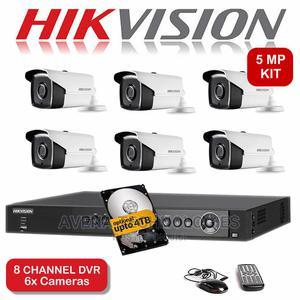 6 Pcs Outdoor 5mp Cctv Dvr Surveillance Camera Kit   Security & Surveillance for sale in Lagos State, Ikeja
