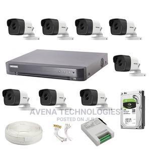 8 Pcs Outdoor 5mp Cctv Dvr Surveillance Camera Kit   Security & Surveillance for sale in Lagos State, Ikeja