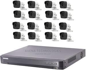 16 Pcs 5 Mp Cctv Dvr Surveillance Camera System Kit   Security & Surveillance for sale in Lagos State, Ikeja