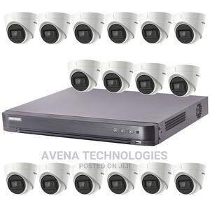 16 Pcs Indoor 5mp Cctv Dvr Surveillance Camera System Kit   Security & Surveillance for sale in Lagos State, Ikeja