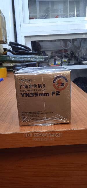 Yongnou 35mm Prime Lens(For Canon)   Accessories & Supplies for Electronics for sale in Lagos State, Oshodi