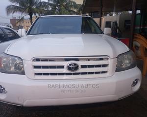 Toyota Highlander 2007 V6 White | Cars for sale in Lagos State, Ikeja