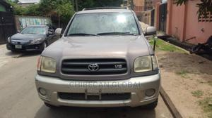Toyota Sequoia 2002 Gray   Cars for sale in Lagos State, Apapa