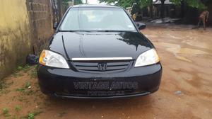 Honda Civic 2004 Black   Cars for sale in Lagos State, Ipaja