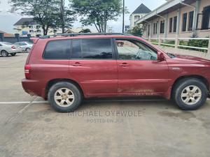 Toyota Highlander 2003 Limited V6 AWD Red | Cars for sale in Abia State, Aba North