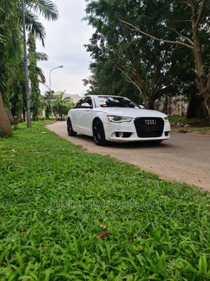 Audi A5 2013 Cabriolet 2.0T Prestige White   Cars for sale in Abuja (FCT) State, Garki 2