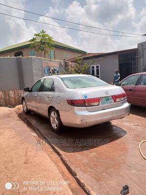 Honda Accord 2004 Sedan EX Silver | Cars for sale in Lagos State, Magodo