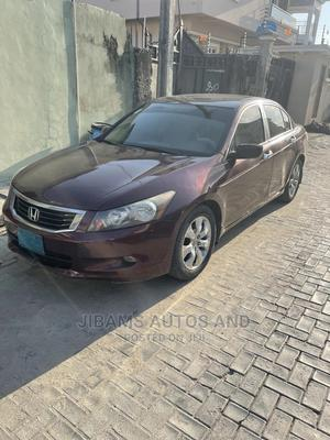 Honda Accord 2009 2.0 I-Vtec Red | Cars for sale in Lagos State, Ajah