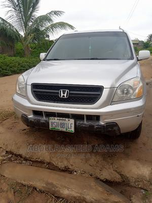 Honda Pilot 2003 EX-L 4x4 (3.5L 6cyl 5A) Silver | Cars for sale in Abuja (FCT) State, Lugbe District