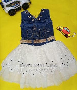 Little Princess Jeans Gown | Children's Clothing for sale in Lagos State, Amuwo-Odofin
