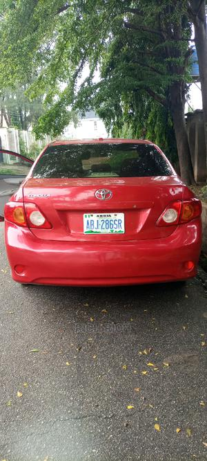Toyota Corolla 2010 Red | Cars for sale in Abuja (FCT) State, Wuse