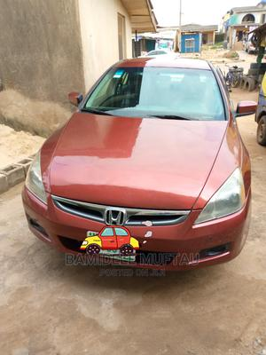 Honda Accord 2007 2.4 Red   Cars for sale in Lagos State, Abule Egba