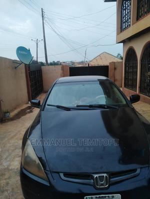 Honda Accord 2005 2.4 Type S Automatic Black | Cars for sale in Oyo State, Ibadan