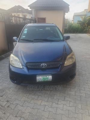 Toyota Matrix 2005 Blue   Cars for sale in Lagos State, Ajah