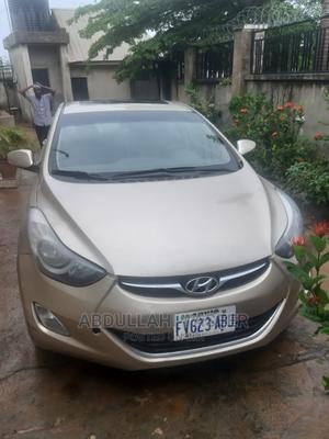 Hyundai Elantra 2012 GLS Automatic Gold   Cars for sale in Abuja (FCT) State, Central Business Dis