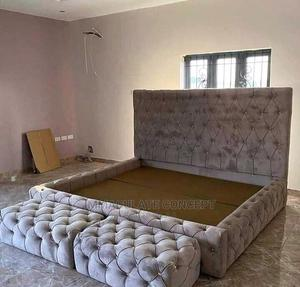 6by6 Padded Bedframe | Furniture for sale in Lagos State, Isolo