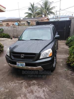 Honda Pilot 2004 EX 4x4 (3.5L 6cyl 5A) Gray | Cars for sale in Abuja (FCT) State, Kubwa