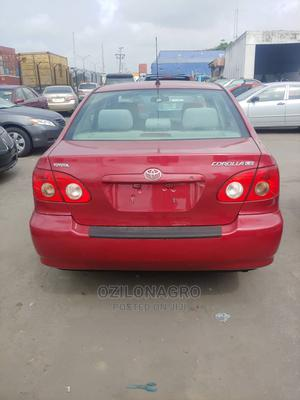 Toyota Corolla 2009 1.8 Exclusive Automatic Red | Cars for sale in Lagos State, Lekki