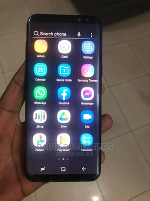 Samsung Galaxy S8 Plus 64 GB Black | Mobile Phones for sale in Lagos State, Gbagada