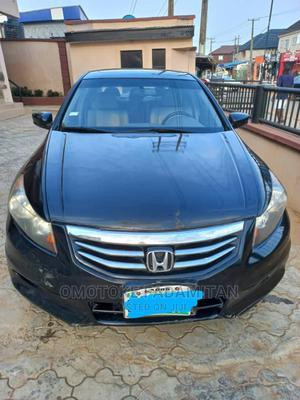 Honda Accord 2012 Black   Cars for sale in Lagos State, Alimosho