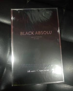 Monte Cameron Black Absolu Edp 100ml   Fragrance for sale in Lagos State, Kosofe