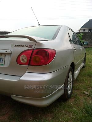 Toyota Corolla 2004 S Silver | Cars for sale in Edo State, Benin City