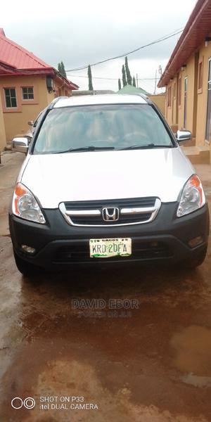 Honda CR-V 2004 EX 4WD Automatic Silver | Cars for sale in Lagos State, Ikorodu
