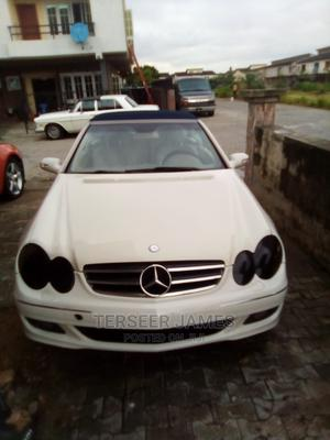 Mercedes-Benz CLK 2008 350 Avantgarde White   Cars for sale in Lagos State, Ajah