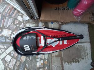 Wilson Tennis Racket Red and Black | Sports Equipment for sale in Lagos State, Surulere