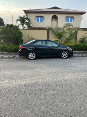 Toyota Corolla 2008 Black | Cars for sale in Lagos State, Ilupeju
